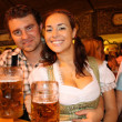 thumbnail of Pair in beer garden