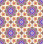 Vettore di tradizionale modello islamico sul bianco