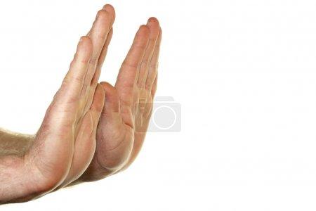 hands, refusing - B8921182
