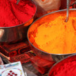 thumbnail of Traditional spices market in India.