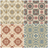 Seamless Vintage Background Collection - Victorian Tile