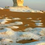 thumbnail of Landscape of the famous white desert in Egypt
