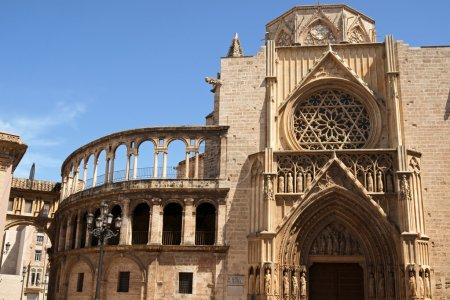 Постер, плакат: Valencia Cathedral, холст на подрамнике