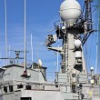 thumbnail of Communications tower modern warship