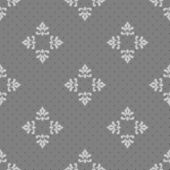 Seamless floral grey vintage style pattern tile