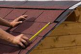 Bau eines Daches