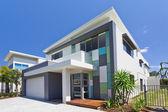 Moderní dům fronta