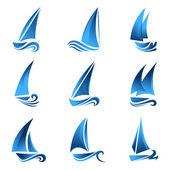 Segelboot-symbol
