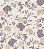 Floral seamless pattern vector design
