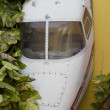 thumbnail of Airplane wreck decoration in the Bahamas