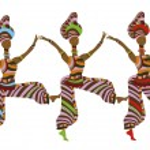 Постер, плакат: Folk dancing