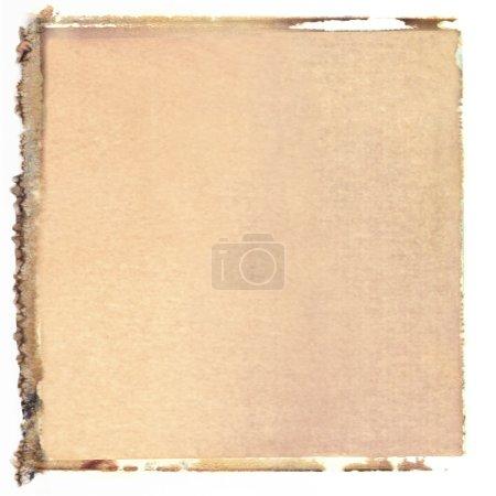 Постер, плакат: Square polaroid transfer, холст на подрамнике
