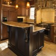 thumbnail of Kitchen Interior With Stone Accents in Affluent Home
