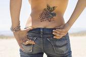 Tattoo und Hintern