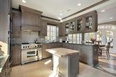 Küche im renovierten Haus