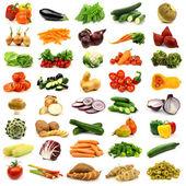 Kolekce čerstvé zeleniny