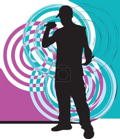 Постер, плакат: Artists of hip hop, холст на подрамнике