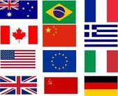 Bandiere - dodici migliori vendita bandiere del mondo