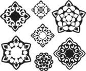 Decorative circular pattern