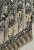 Detailní pohled na katedrálu v Olomouci
