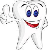 親指を使って歯します。zub s palcem nahoru