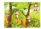 Kreslená opice