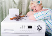 Fényképek Törött mosógép