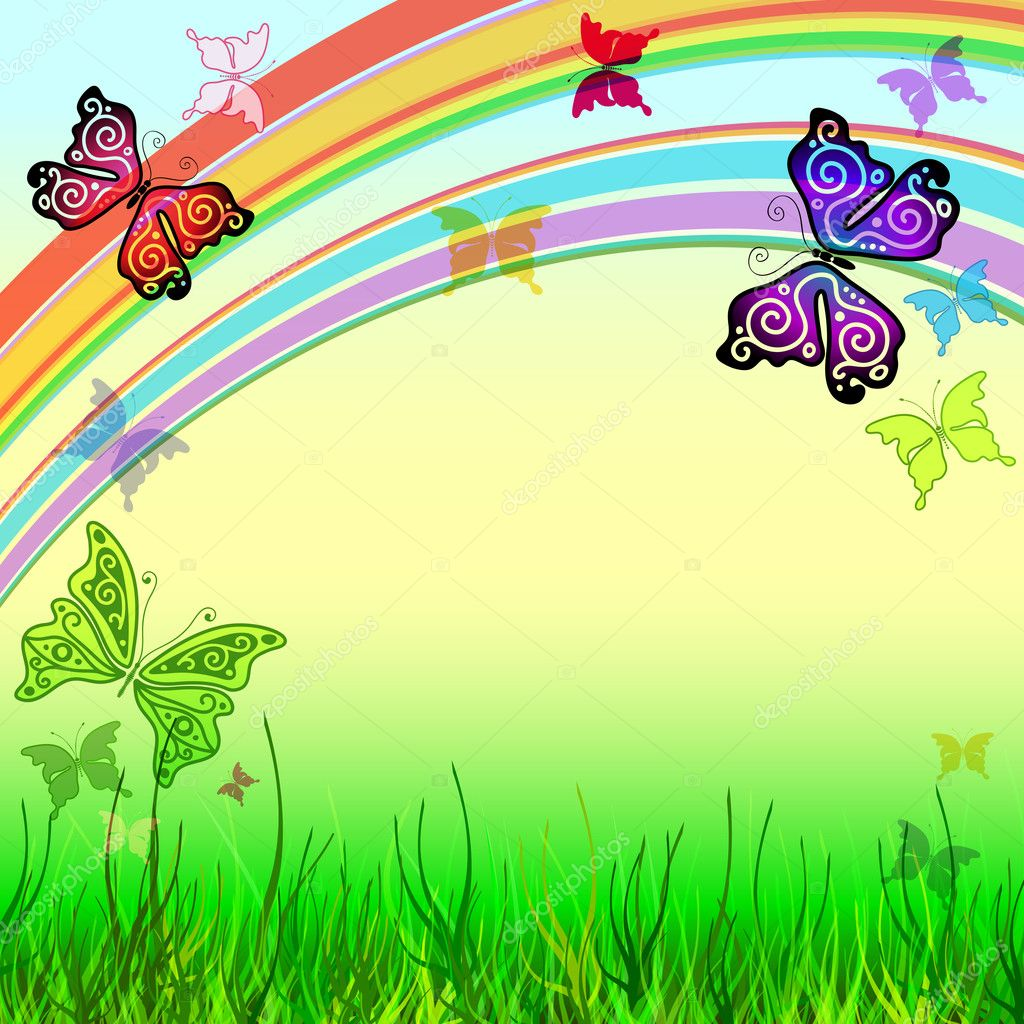 Spring vivid background