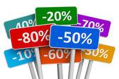 Fotografie Verkauf und Discount-Konzept