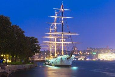 Historical ship ''AF Chapman'' in Stockholm, Sweden