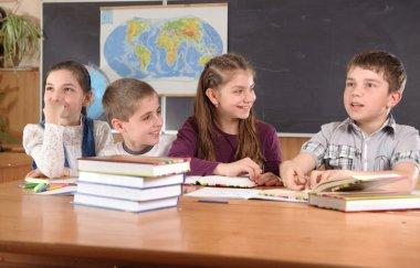 Elementary school pupils