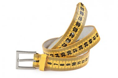 Meter belt slimming isolated