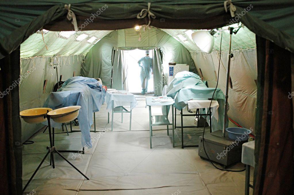Operation Room In A Military Mobile Hospital U2014 Photo By Joyfull