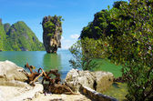 Photo James bond island in thailand