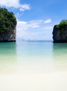 Sea in Krabi Thsiland