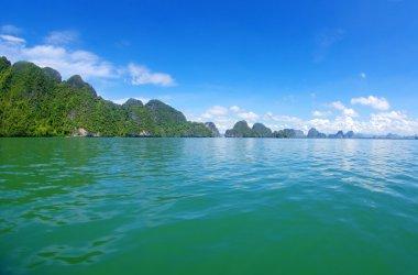 Island and sea in Krabi