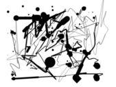abstrakter Hintergrund von Klecksen