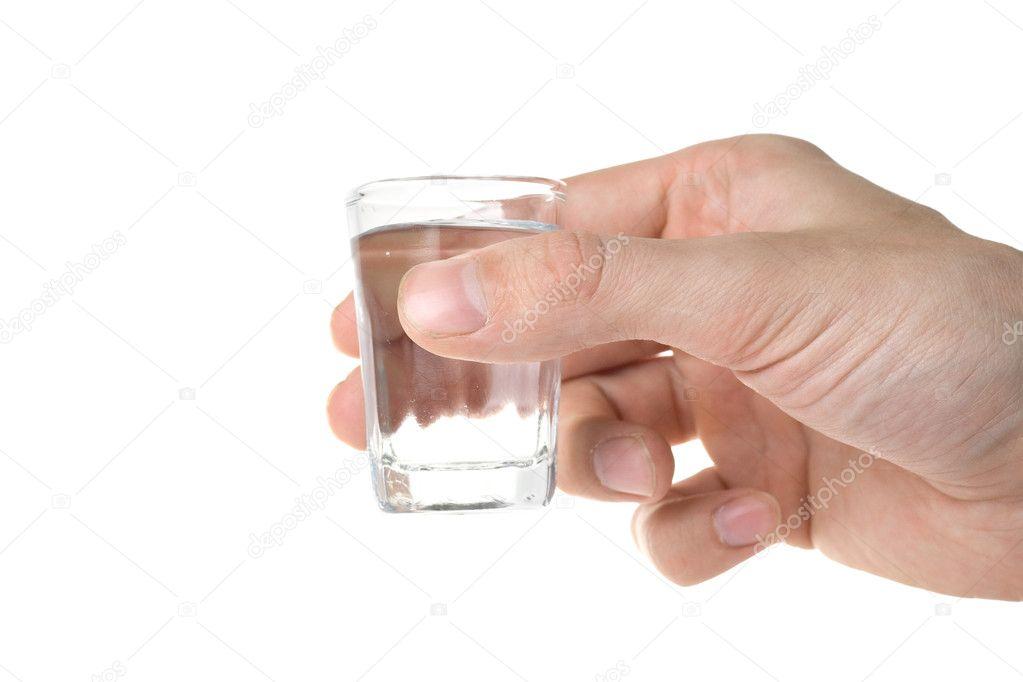волос картинка пустой стакан в руке сложенном