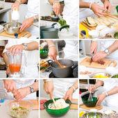 Fotografie kuchař vaření