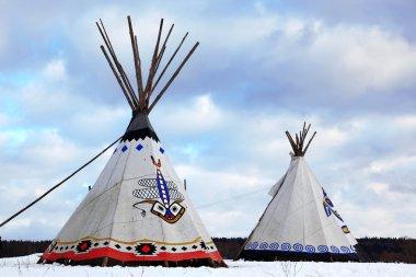 Classic native Indian tee-pee