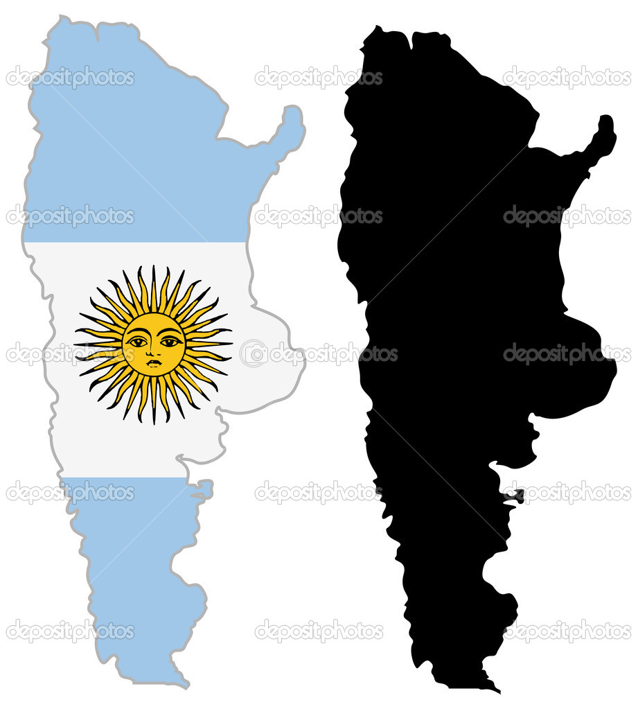 Argentina map Stock Vectors, Royalty Free Argentina map ...