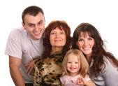 Fotografie portrét šťastné rodiny