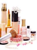 Dekorativní kosmetika pro make-up.