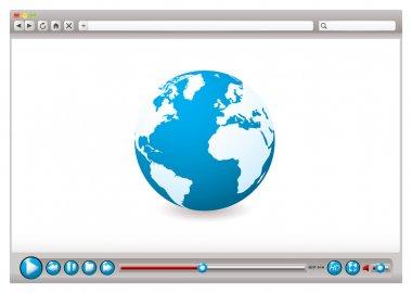 Web video browser world