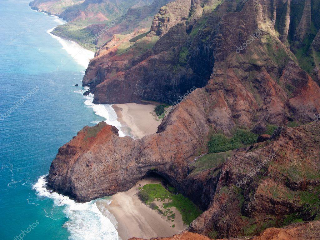 Na Pali coast of Kauai