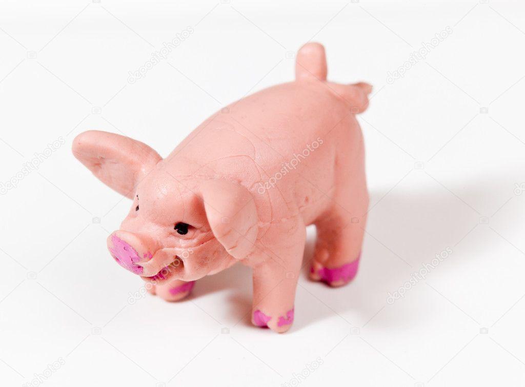 petit cochon en plastique froiss dans macro photographie steveheap 9119904. Black Bedroom Furniture Sets. Home Design Ideas