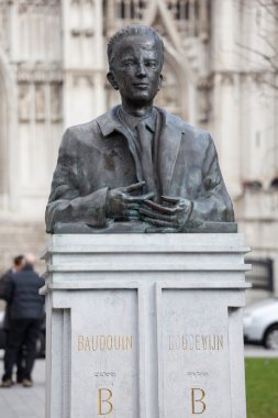 Statue of King Baudouin in Brussels