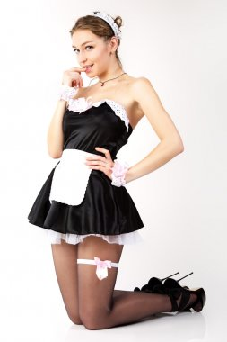 Sexy French maid.