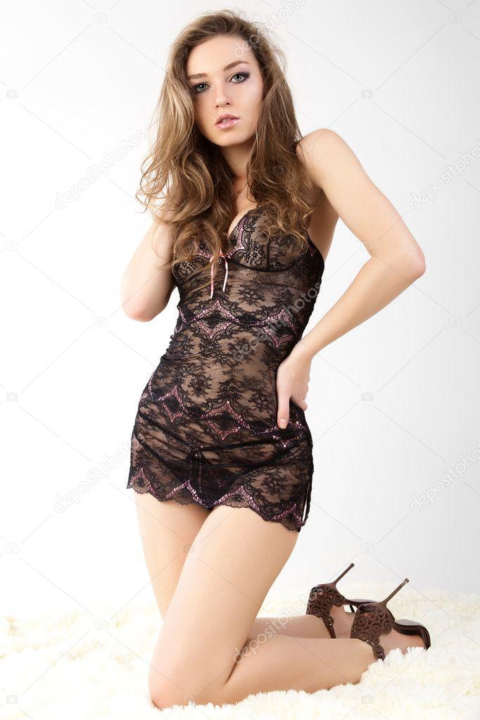 Sensuales mujeres en ropa interior negro en la piel fotos de stock artgo biz 9208206 - Fotografias de mujeres en ropa interior ...