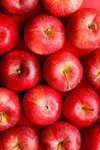 Fotografie Background with fresh red apples